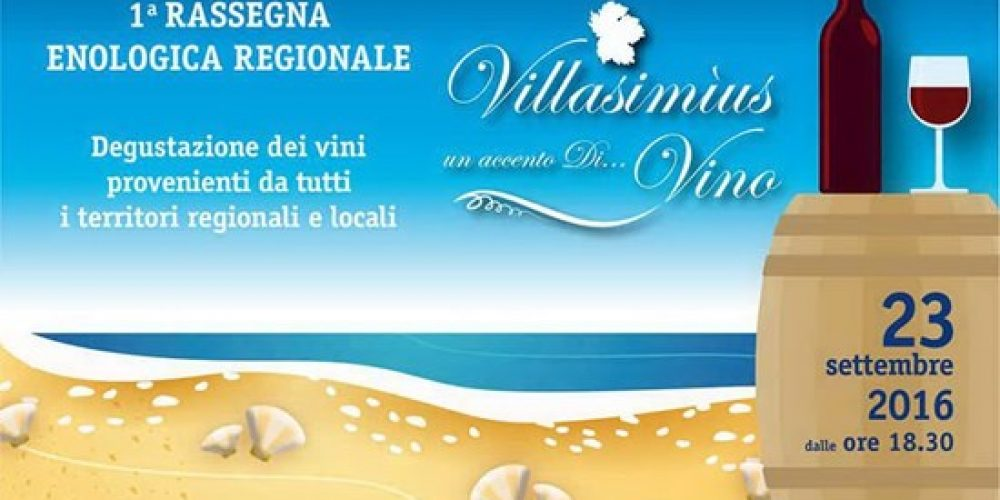 """A Villasimius la rassegna enogastronomica """"Un Accento di…Vino"""""""
